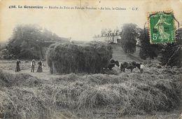 La Gouesnière - Récolte Du Foin Au Parc De Bonaban, Au Loin Le Château - Collection Germain - Carte G.F. N° 4768 - Autres Communes