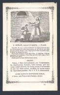 La Vie Des Saints Edition Fin XIX ème  St ROMAIN   ( 9 Août ) - Santini