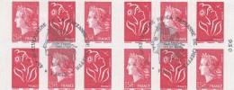 FRANCE 2007 CARNET OBLITERE LES QUARANTE ANS DE LA MARIANNE DE CHEFFER 1515   TDA126 - Carnets