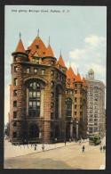 Erie County Savings Bank Street View Buffalo New York Used C1912 STK#93888 - Banks