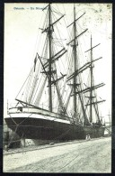 "Un ""nitratier"" à Ostende - RR - Animée - Circulé - Circulated - Gelaufen - 1905. - Sailing Vessels"