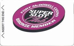 Fort McDowell Fountain Hills, AZ - Early Slot Card - Bronze Member (BLANK) - Casino Cards