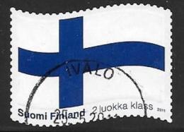 Finland, Scott # 1368 Used Flag, 2011 - Finland
