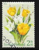 Finland, Scott # 1373 Used Tulips, 2011 - Finland