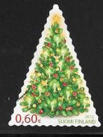 Finland, Scott # 1418 Used Christmas Tree, 2012 - Finland