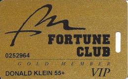 Fort McDowell Fountain Hills, AZ - Slot Card - Web Address Over Mag Stripe - 55+ Senior Card - Casino Cards