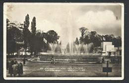 CPA - Photo Carte - Foto Kaart - ANVERS - ANTWERPEN - Une Fontaine - Expo 1930     //