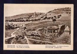 Palestina. Jerusalem *La Vallée De Josaphat* Nueva. - Palestina