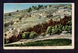 Palestina. Jerusalem *The Hinnom Valley The Blood Field* Nueva. - Palestina