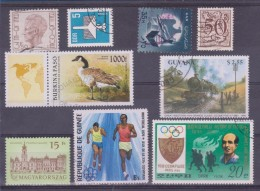 LOT OF USED STAMPS    ANIMALES  ANIMALS  PAISES  COUNTRIES VARIOS  VARIOUS   S-1494 - Sellos