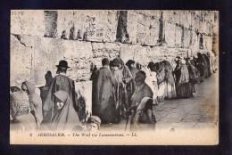 Palestina. Jerusalem *The Wall The Lamentations* Nueva. - Palestina
