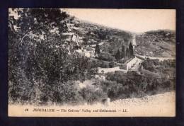 Palestina. Jerusalem *The Cedrons´ Valley And Gethsemani* Nueva. - Palestina