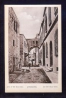 Palestina. Jerusalem *Arch Of The Ecco Omo* Nueva. - Palestina