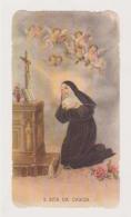 ANTICO SANTINO FUSTELLATO SANTA RITA DA CASCIA EDIZ. G.MI 11 IMAGE PIEUSE ANDACHTSBILD HOLY CARD - Imágenes Religiosas