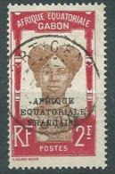 Gabon - Yvert N°106  Oblitéré   ABC11104 - Gabon (1886-1936)