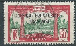 Gabon - Yvert N°103  Oblitéré   ABC11106 - Gabon (1886-1936)