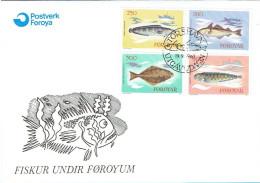 FAROE ISLANDS  #FDC FROM 1983 - Féroé (Iles)