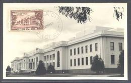 Canberra *Federal Parliament House* Matasellada 1963. - Sri Lanka (Ceilán)