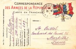 CORPS EXPEDITIONNAIRE 2EME DIVISION QUARTIER GENERAL ILE DE GALLIPOLI GRECE 1915 FRANCHISE MILITAIRE TRESOR POSTES 409 - Postmark Collection (Covers)
