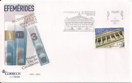 2011 Spanien Mi. 4650 FDC 300 Jahre Nationalbibliothek - FDC