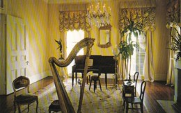 Louisiana White Castle Nottoway Plantation The Music Room