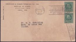 1917-H-316 CUBA REPUBLICA. 1c PATRIOTAS. 1931. SLOGAN POSTMARK: QUIEN MAS NOS COMPRE - Lettres & Documents