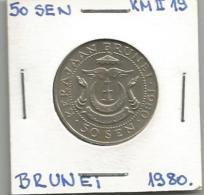 D3 Brunei 50 Sen 1980. - Brunei