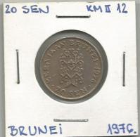 D3 Brunei 20 Sen 1976. - Brunei