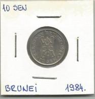 D4 Brunei 10 Sen 1984. - Brunei