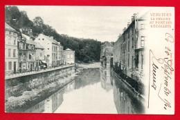 Verviers. La Vesdre Au Pont Des Récollets. Imprimerie Alb. Hermann.  1901 - Verviers