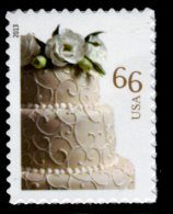 USA, Scott #4735, Wedding Cake, 66c, Single,  MNH, VF - Unused Stamps