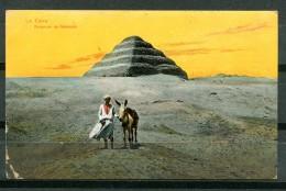 # - LE CAIRE - Pyramide De Sakkarah - Kairo