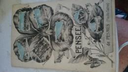 FRANCE / CPA  / UNE PENSEE DE PESMES / 1933 - Pesmes