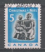 Canada 1968, Scott #488 Christmas: Eskimo Family Carving (U) - 1952-.... Règne D'Elizabeth II