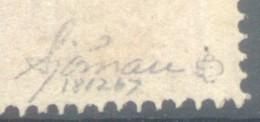 SVERIGE SUEDE ANS 1862-66 YVERT NR. 15 MNH TBE AVEC SIGNATURE D'EXPERT AU DOS