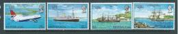 Bermuda 1980 Mail Transport London Set Of 4 MNH - Bermuda
