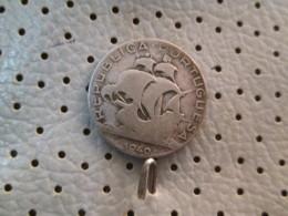 PORTUGAL 2 1/2 Escudos 1940 Silver 3.25 G - Portugal