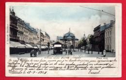 Verviers. Place Verte. Kiosque. Café Vénitien, Brasserie De Diekirch. 1904 - Verviers