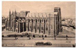 AUSTRALIA - ST. PATRICK'S CATHEDRAL, MELBOURNE / TRAMWAY - Melbourne