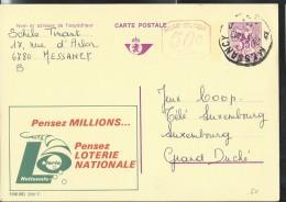Publibel Obl. N° 2541 + P 010 (Loterie Nationale) Obl: Messancy 20/05/1974 - Publibels
