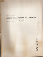 Lezioni Sulla Teoria Dell'impresa Parte I La Teoria Tradizionale Giorgio Dellacasa - Diritto Ed Economia