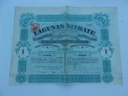 LAGUNAS NITRATE (1895) - Zonder Classificatie