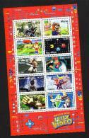 2005-BLOC N°91** HEROS JEUX VIDEO - Blocs & Feuillets