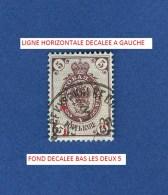 1889 / 1905    5   OBLITÉRÉ TRACE ENLEVÉE CHARNIÈRE - 1857-1916 Empire
