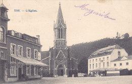 Tilff - L'Eglise (café Du Kiosque, Animée, Précurseur) - Esneux