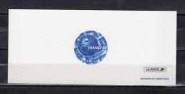 """FRANCE 1998 : Gravure Officielle N° YT 3139 """" FOOTBALL / SOCCER / GRAVURE """". Parfait état !"""