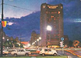 Rumania--1977--Bucuresti--La Place De L'Universite--Hotel Inter Continental---a Le Mans, Francia - Hoteles & Restaurantes