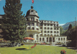 Suiza--Grand Hotel Vereina Klosters Schweiz--1975 - Hoteles & Restaurantes