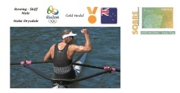 Spain 2016 - Olympic Games Rio 2016 - Gold Medal Rowing Male New Zealand Cover - Juegos Olímpicos