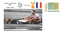 Spain 2016 - Olympic Games Rio 2016 - Gold Medal Rowing Male France Cover - Juegos Olímpicos